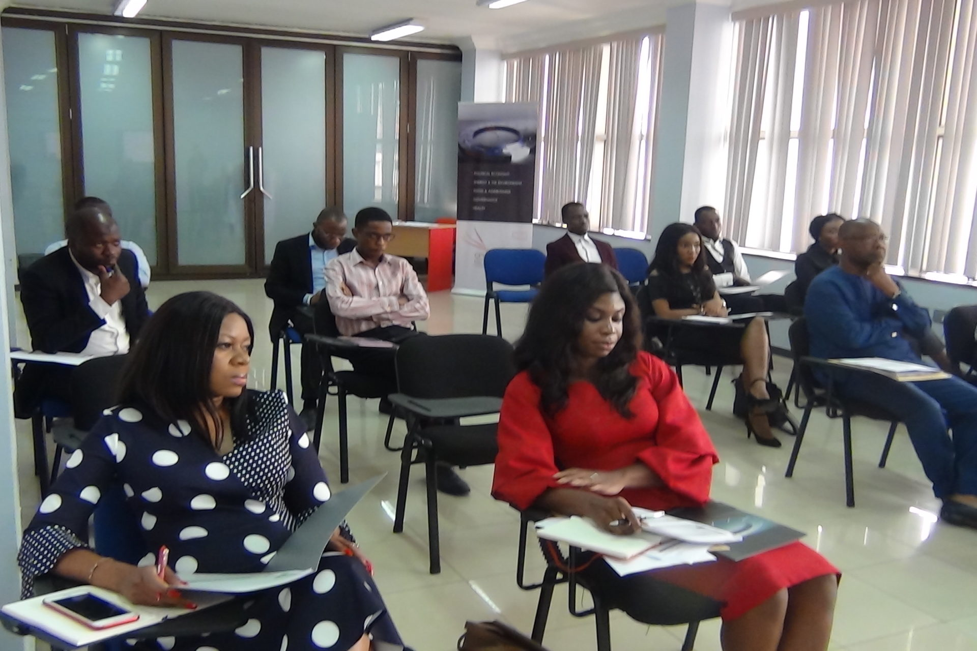 Cross section of Participants at the stakeholder engagement